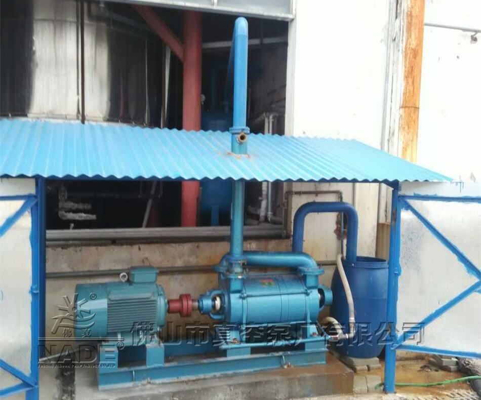 2SK系列水环式热博登录在化工行业聚氨酯生产应用