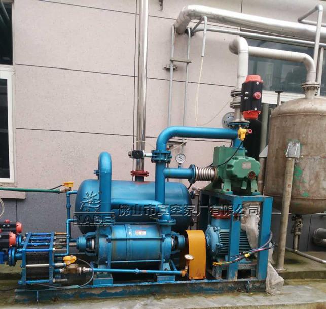 2SK-P1系列水环式热博登录在化工行业生产应用