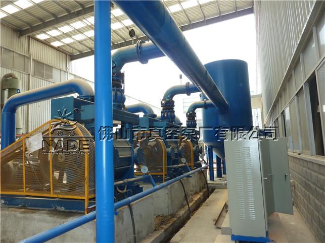 铸造行业使用2BEF水环式热博登录现场