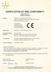 佛真CE认证证书